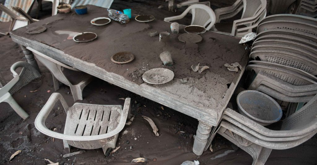 The pastor of the Church of San Miguel de los Lotes and his family were sitting down for dinner when Volcán de Fuego erupted. They all tragically lost their lives.