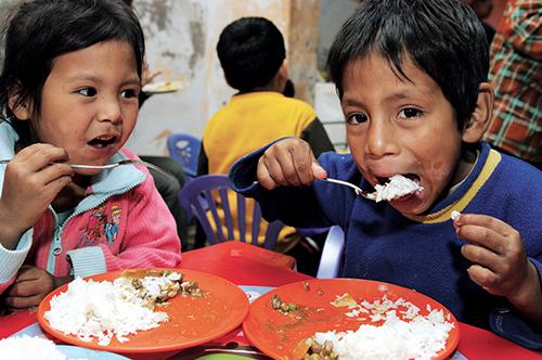 FEEDING THE HUNGRY - WORLDWIDE