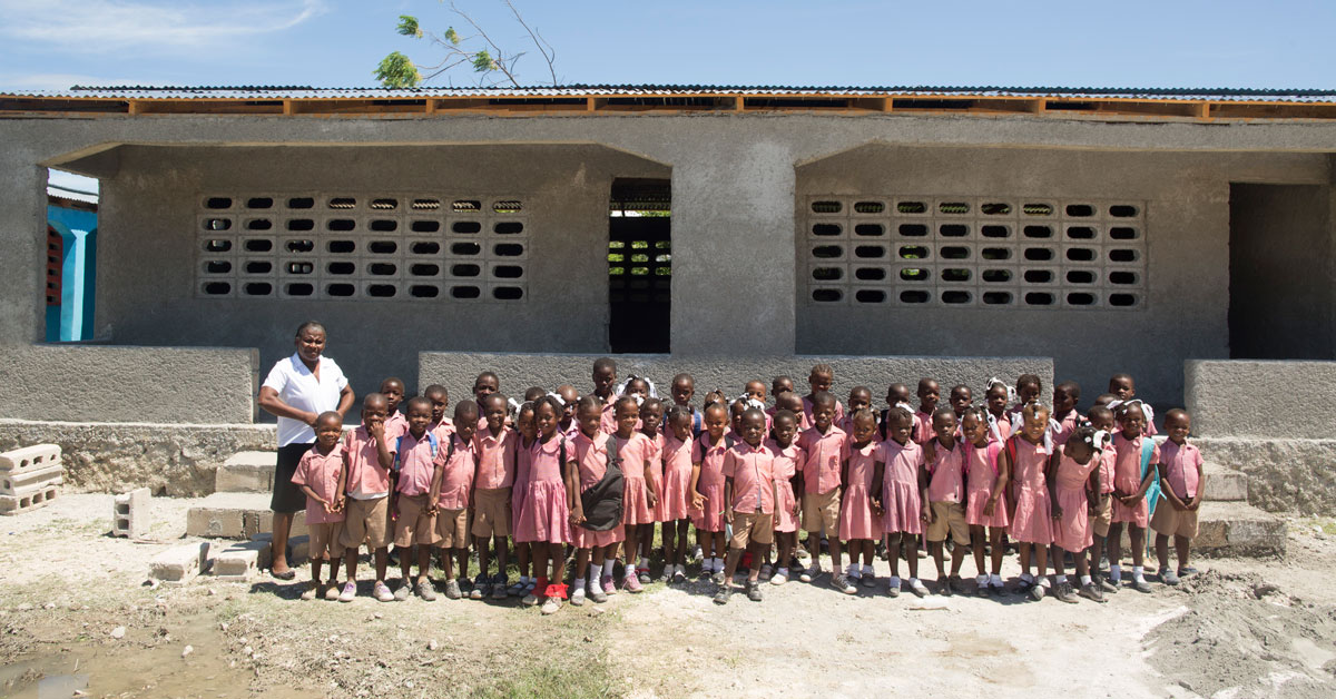 Divine Shelter School in Rigaud, Haiti