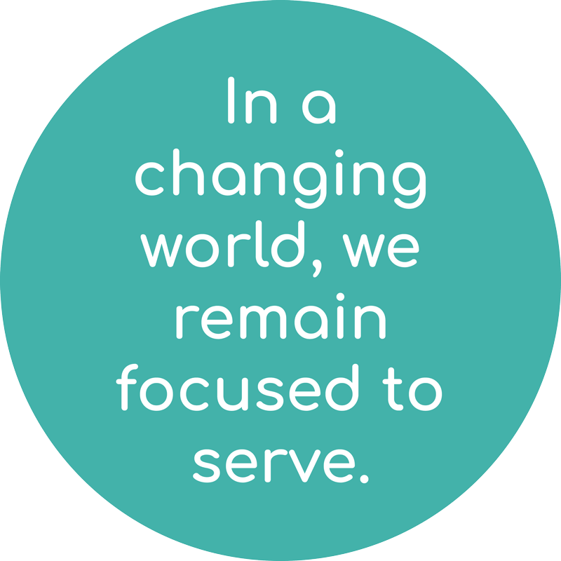 Focused to Serve