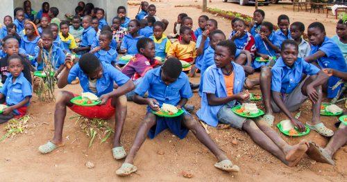 School feeding in Malawi