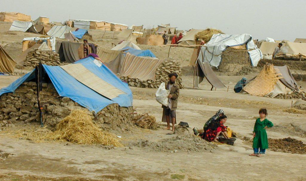 Camp in Afghanistan - October 2021