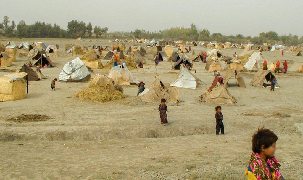 DP Camp in Afghanistan - October 2001