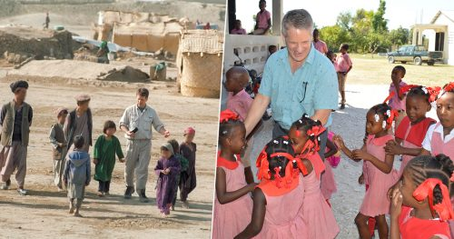 Kelly Miller in Afghanistan and Haiti